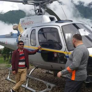 Nepal Helicopter Tour Packages