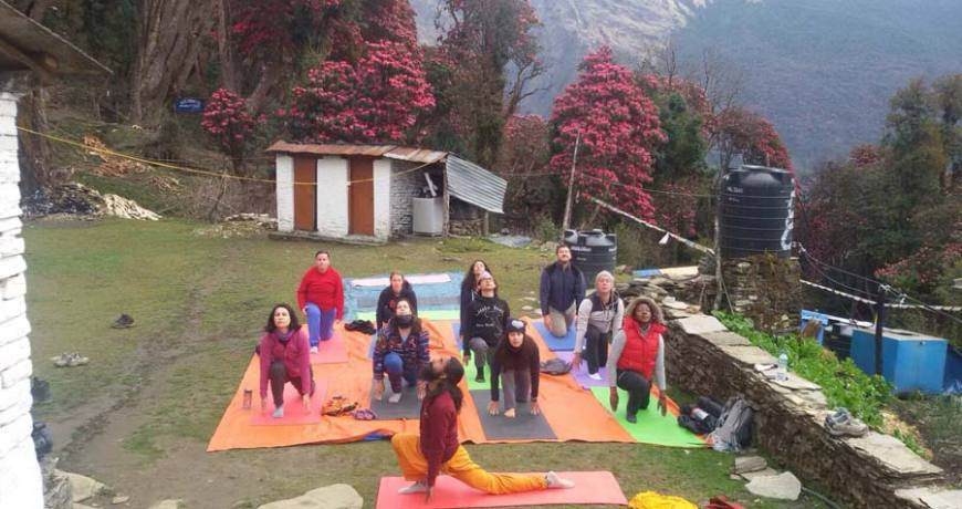 9 days Yoga Meditation with Buddhism Tour Package
