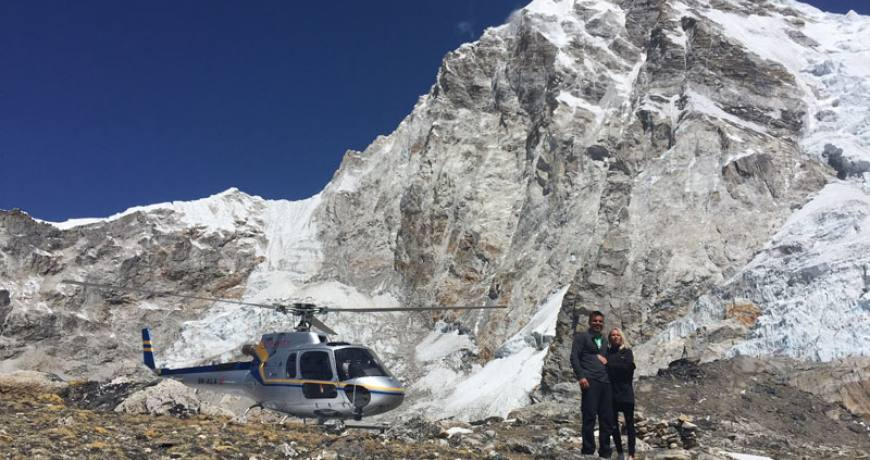 Everest Base camp Helicopter Tour Package