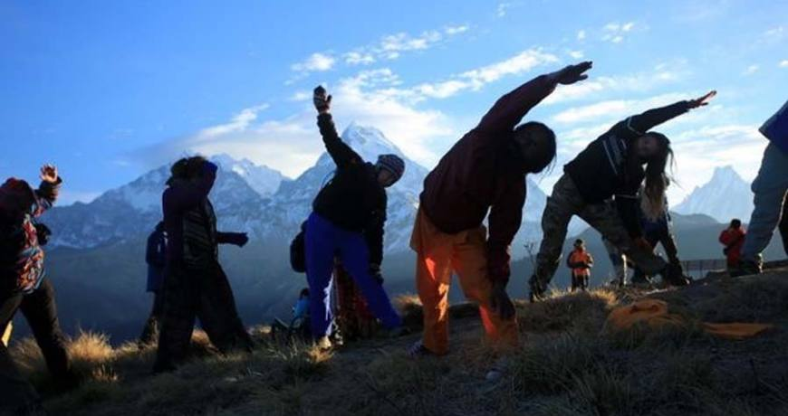 Mt Everest View Yoga Trek